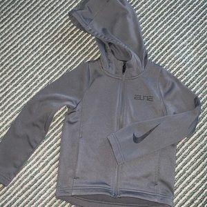 Boys Sri fit zip up hoodie